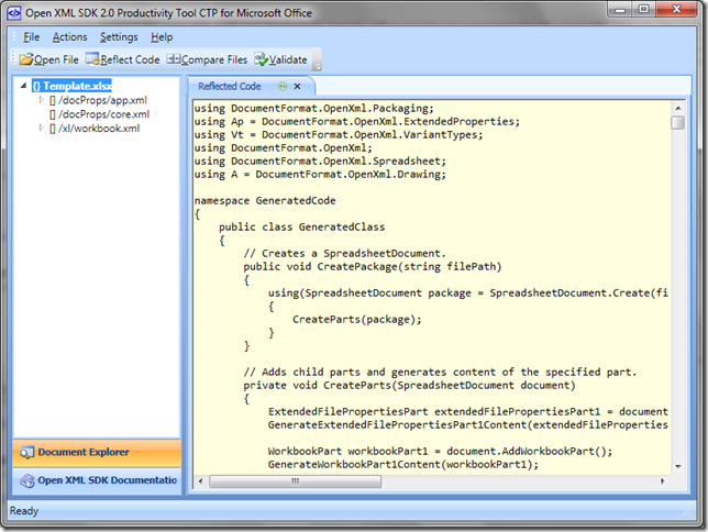 Lateral8 | OpenXML SDK 2 0: Export a DataTable to Excel